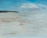 Beach Life 060217 by Cornwall,City, Art by John Greig, Painting, Oil and Acrylic on Aluminium