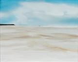 Beach Life 070917 by Cornwall,City, Art by John Greig, Painting, Oil and Acrylic on Canvas