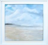 Beach Life 071017 by Cornwall,City, Art by John Greig, Painting, Oil and Acrylic on Canvas