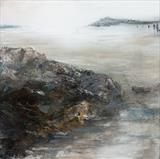 Beach Life 130219 by Cornwall,City, Art by John Greig, Painting, Mixed Media On Aluminium