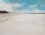 Beach Life 130717 by Cornwall,City, Art by John Greig, Painting, Oil and Acrylic on Canvas