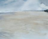 Beach Life 201216 by Cornwall,City, Art by John Greig, Painting, Mixed Media on Aluminium Sheet