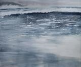 Beach Life surf III 130415 by Cornwall,City, Art by John Greig, Painting, Oil and Acrylic on Canvas