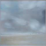 Beach life 161016 by Cornwall,City, Art by John Greig, Painting, Oil on Aluminium