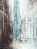City Life 180218 by Cornwall,City, Art by John Greig, Painting, Mixed Media on Aluminium