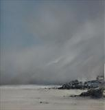 """Godrevy 020111 by Cornwall,City, Art by John Greig, Painting, Oil on canvas"